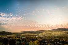 Autumn Sky Upon Boise Valley
