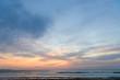 海岸の夕暮れ
