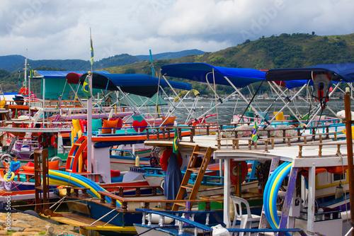 boats of Parati