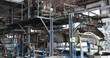 4k large machine in silk factory,reeling at workshop.