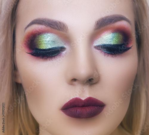 Fototapeta Portrait makeup obraz na płótnie