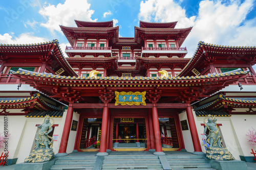 The Buddha Tooth Relic Temple, Singapore