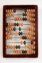 Vintage Wooden Abacus Isolated...