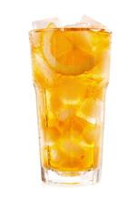 Glass Of Iced Tea With Lemon O...