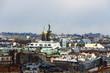 Blick von der Isaakskathedrale in St. Petersburg Richtung Erlöserkirche