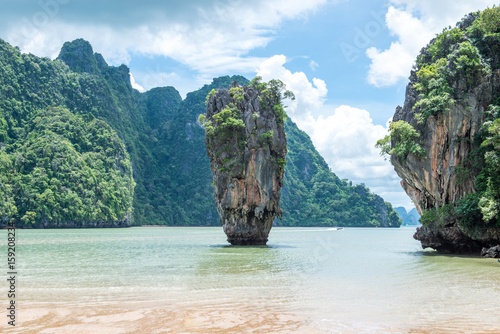 Foto op Canvas Eiland James Bond Island