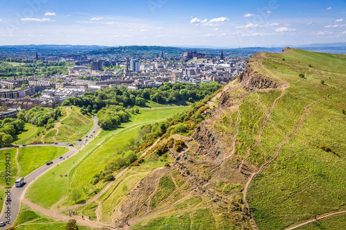 Arthur's Seat, Edinburgh, Scotland Wallpaper Mural