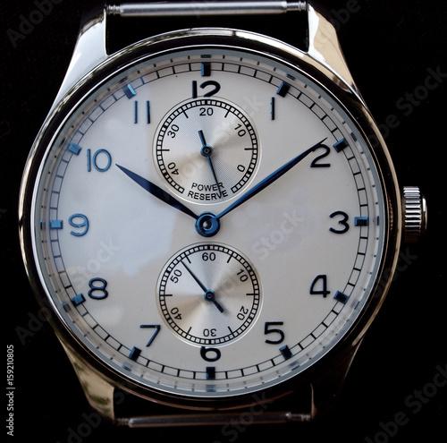 mechanical watch dial