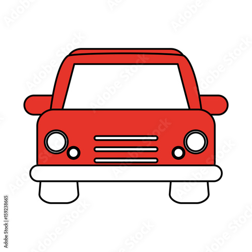 Poster Cars car flat illustration vector design graphic icon