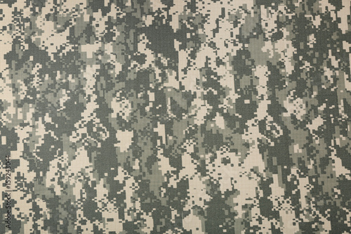 Fotografía Camouflage fabric texture background