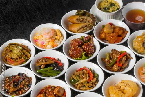 中華料理いろいろ Group picture of Chinese cuisine