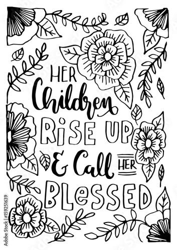 jej-dzieci-powstaja-i-nazywaja-ja-blogoslawiona-z-kwiatowym-doodle-na-bialym