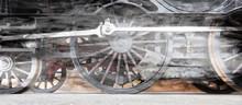 Steam Locomotive Wheels Or Ste...