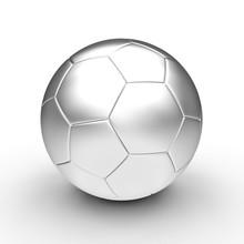 Metal Soccer Ball