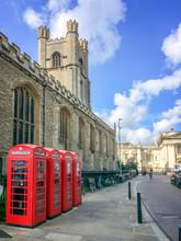Old Style British Telephone Bo...