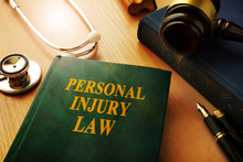 Personal Injury Law Book On A ...
