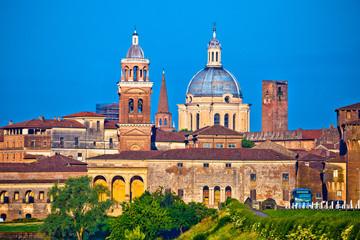 Fototapeta na wymiar City of Mantova skyline view