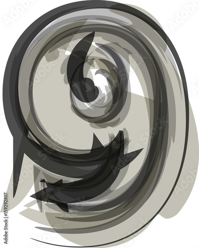 Fototapety, obrazy: Abstract Number 9
