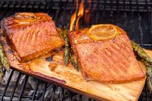 Cedar Plank Salmon With Lemon ...