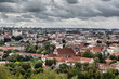 Vilnius panorama from the hill of the Three Crosses, Lithuania