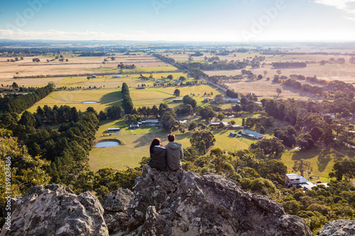Valokuvatapetti Hanging Rock in Macedon Ranges