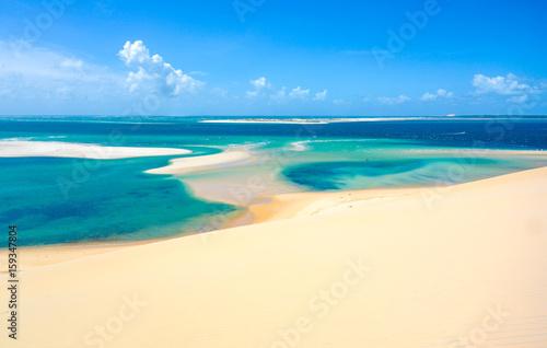 Spoed Foto op Canvas Eiland Bazaruto island clear waters