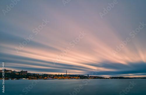 Photo  Stockholm at sunset