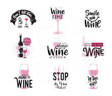 Vector Illustration Of Drink W...