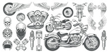 Set Of Vector Illustrations, I...