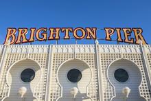 Brighton Pier In East Sussex