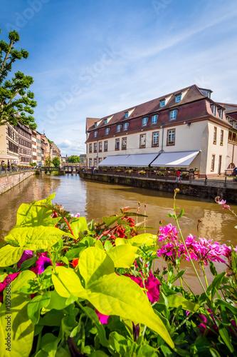 Deurstickers Amsterdam Strasbourg - France