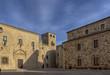 hermosa ciudad medieval de Cáceres en la comunidad de Extremadura