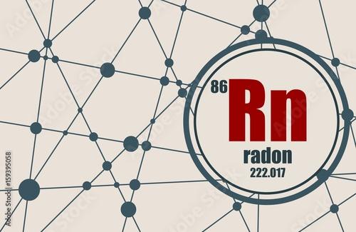 Fényképezés Radon chemical element