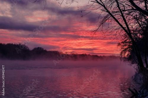 Foto op Plexiglas Crimson dawn