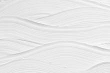 White Wave Plaster Texture. Li...