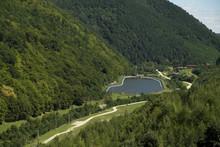 View From  Gura Raului Dam, In...