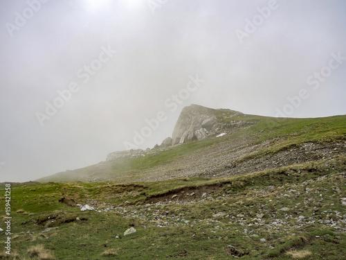 фотография  View from Bucegi mountains, Romania, Bucegi National Park