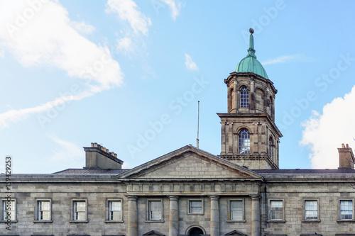 Zdjęcie XXL Uliczny widok kościelni punkty zwrotni Dublin Irlandia