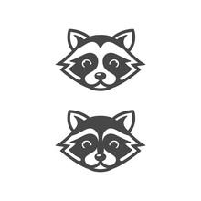 Raccoon Head Icons