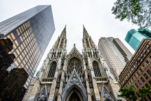 The Cathedral Of St. Patrick In New York