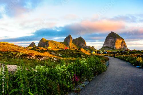 Staande foto Noord Europa Norway
