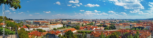 Wall Murals Prague Panoramic view of Prague Old Town, Czech Republic