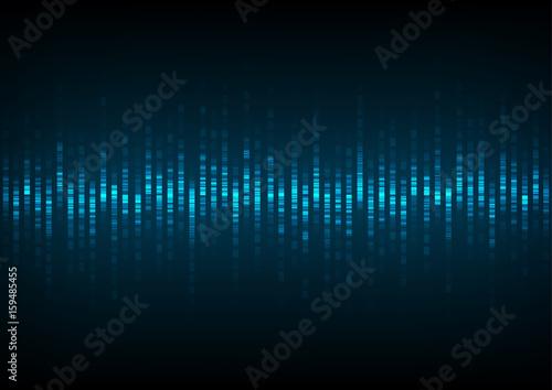 Fototapeta fala dźwiękowa
