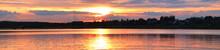 Panorama Of The Sunset Overloo...