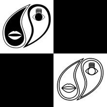 Yin Yang. Vector Logo In The S...