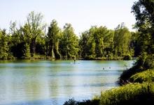 Germany, Bavaria, Summer View ...