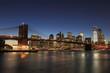 ブルックリンブリッジ 夜景