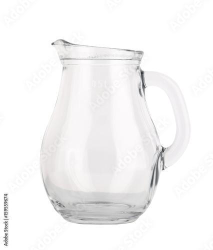 Fototapeta empty glass jug obraz