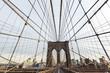 Brooklyn Skyline from Brooklyn Bridge