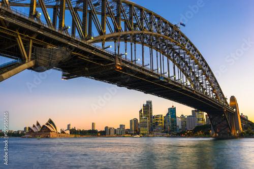 Sydney Harbor Cityscape © kobozaa